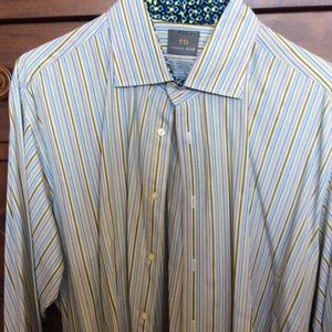 Thomas Dean XXL Long Sleeved Button Down.